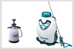 特殊清掃の噴霧器