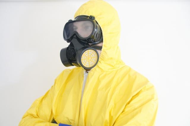 特殊清掃の感染症予防