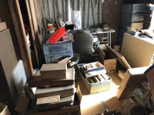 残置物撤去の写真