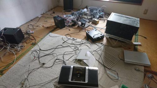 羽曳野市の空き家の残置物撤去