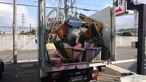 住吉区で不用品回収・処分の終了