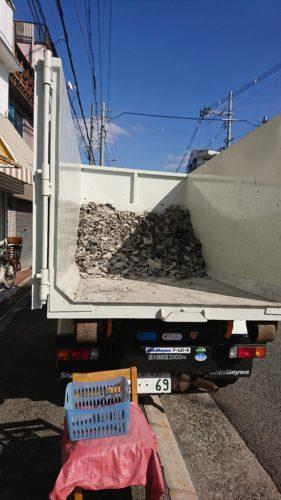 堺市北区で解体ゴミの処分