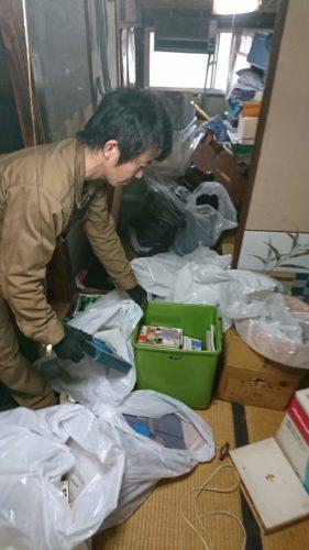 大阪市平野区での遺品整理