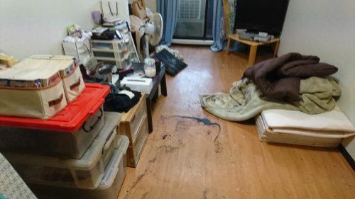大阪市中央区での遺品整理・特殊清掃現場