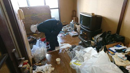 城東区の特殊清掃・遺品整理作業