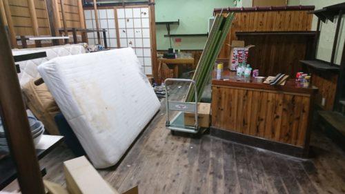 奈良県生駒市の残置物撤去2