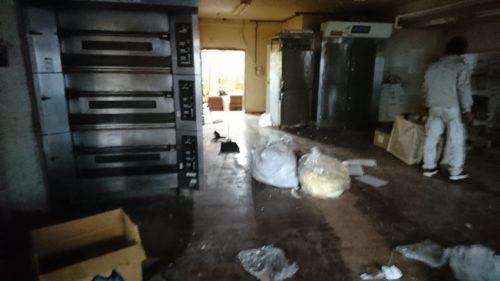 奈良県生駒市の残置物撤去初日