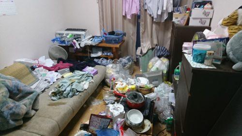 大阪市都島区での遺品整理と特殊清掃
