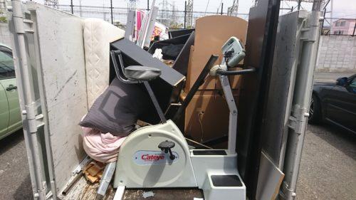 大阪市平野区での不用品回収