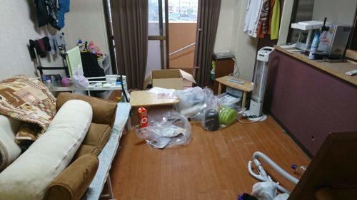 岸和田市での遺品整理と特殊清掃
