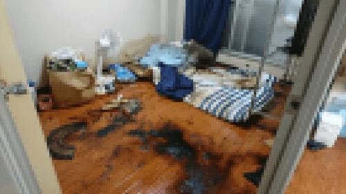 平野区の特殊清掃作業