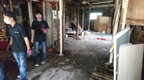 松原市の残置物撤去