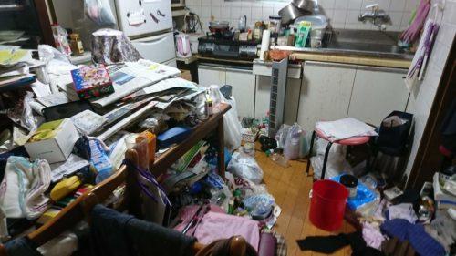 堺市のゴミ屋敷の片付け