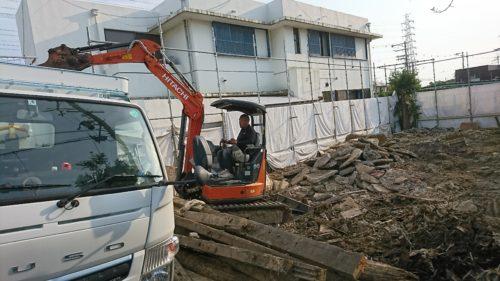 松原市の空き家の残置物撤去