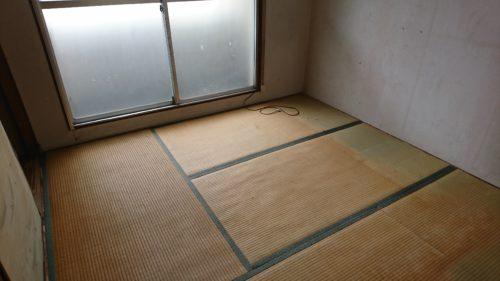 堺市北区中百舌鳥町の不用品回収完了