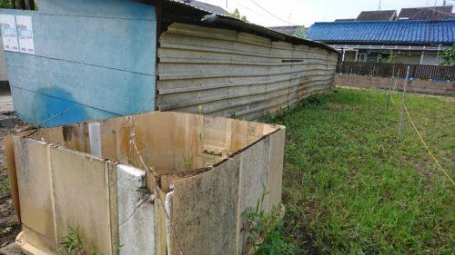 堺市の小屋解体
