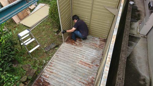 堺市北区の物置の解体処分