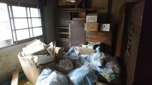 堺市の空き家の残置物撤去