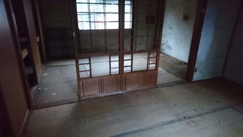 堺市の空き家の残置物撤去終了