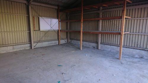 堺市のガレージ撤去完了