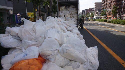 堺市北区の壁紙処分