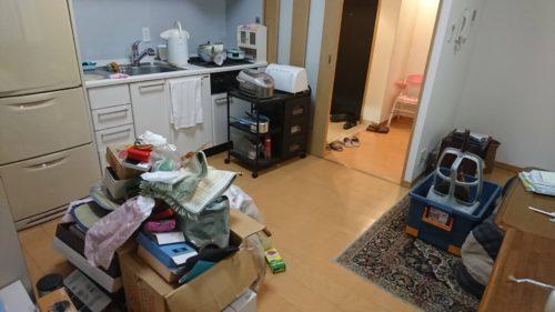 堺市西区のワンルーム退去整理